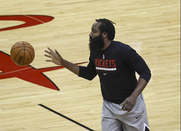 NBA TV's Ro Parrish Takes Funny Shot At James Harden's Weight During Warmups