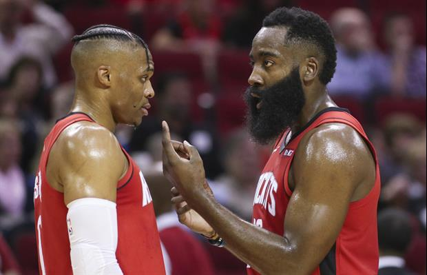 Here's What Russell Westbrook Bought James Harden For His Birthday