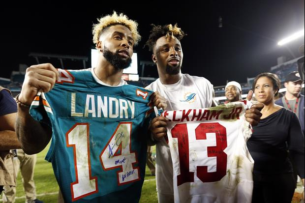 reputable site 62c22 0e242 Jarvis Landry & Odell Beckham Jr. Will Team Up In The NFL ...