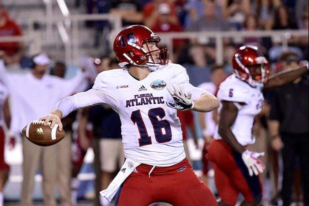Out of nowhere Lane Kiffin's FAU starting QB Jason Driskel up and retired on Thursday...