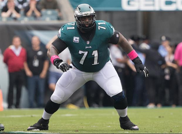 Look At What Eagles Tackle Jason Peters Did To His Truck After Super Bowl Win