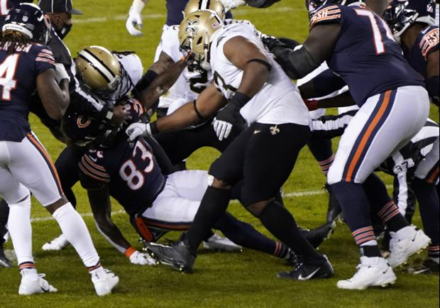 Bears WR Javon Wims Reveals Why He Punched Saints' C.J. Gardner-Johnson