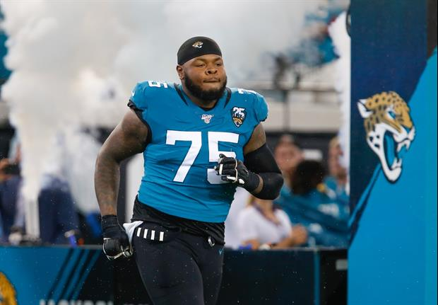 Check Out The 400-Pound Grouper Jaguars Lineman Jawaan Taylor Caught
