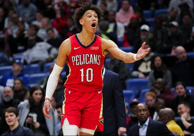 Pelicans' Jaxson Hayes On Not Making Rising Stars Roster: 'NBA can suck my d**k'