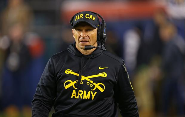 Army Coach Jeff Monken Teared Talking About His Seniors After Saturday's Game