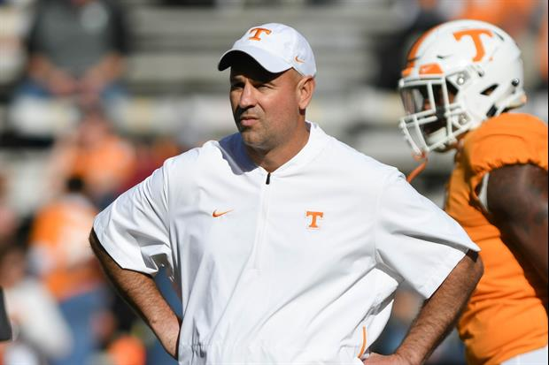 Head coach Jeremy Pruitt Compares Tennessee Football To The Titanic...