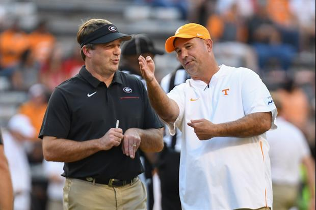 Tennessee's Jeremy Pruitt Called Georgia Kirby Smart A Cheater...But Not At Football