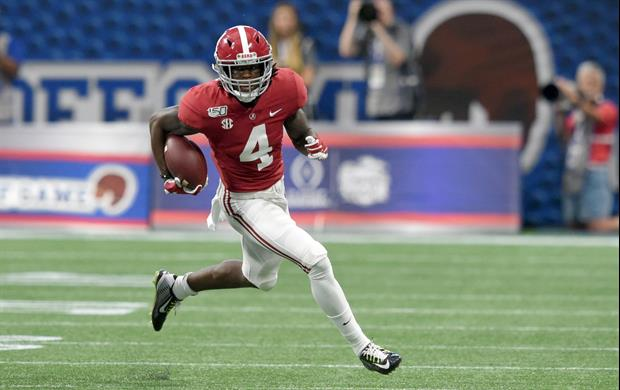 Alabama WR Jerry Jeudy Wore A Massive Star Of David At The NFL Combine