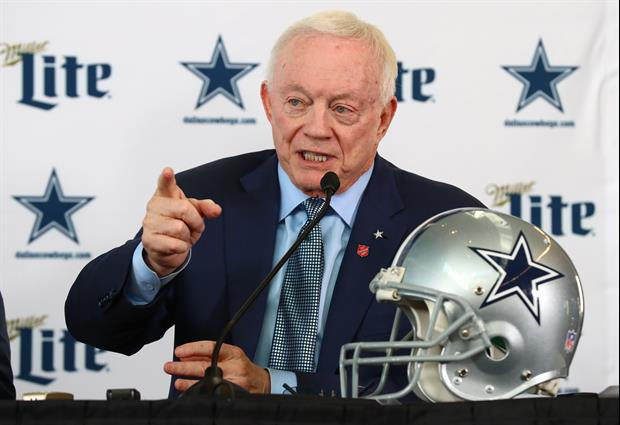 Jerry Jones Snaps At Radio Host After Cowboys Question, 'Shut Up & Let Me Answer'