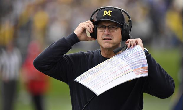 Cris Carter's 'Good Sources' Say Jim Harbaugh Could Coach Packers Or Browns