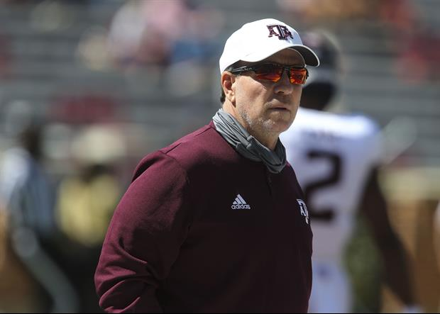 Jimbo Fisher Had This Strong Message To The Playoff Committee After Saturday's Win