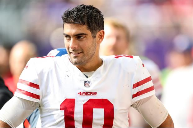 """49ers QB Jimmy Garoppolo Is Dating A """"VIP"""" Bottle Service Girl From Sacramento"""