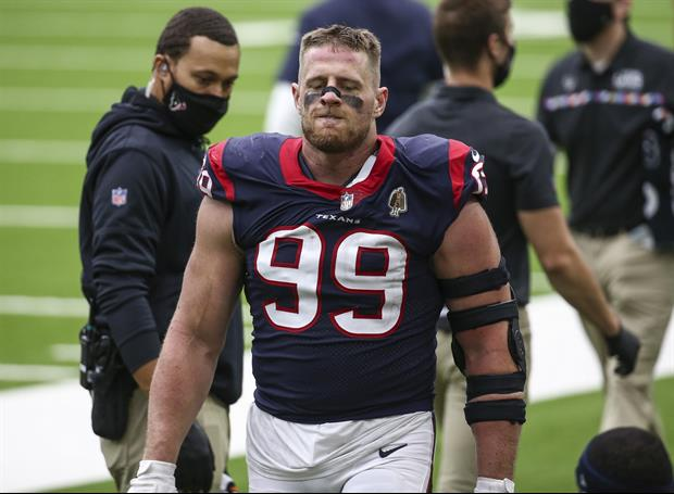 Former Texans Coach Thought J.J. Watt Was 'Selfish, Only Cared About His Stats'