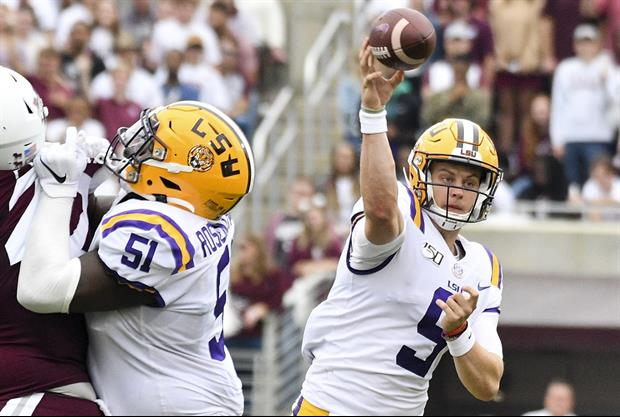 Image result for Joe Burrow Photos Against Mississippi State