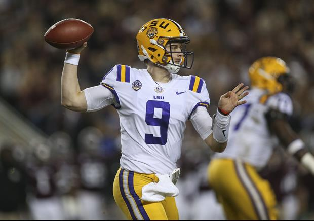 differently ea298 2519a Quarterback Joe Burrow Was Not At LSU's Practice On Friday ...