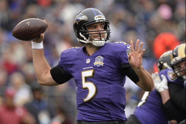 Joe Flacco Celebrates New Huge Contract With Stop At Dunkin Donuts
