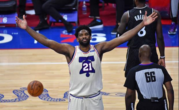 Everyone Was Freaking Out Over Sixers star Joel Embiid's Crazy Missed Shot Last Night