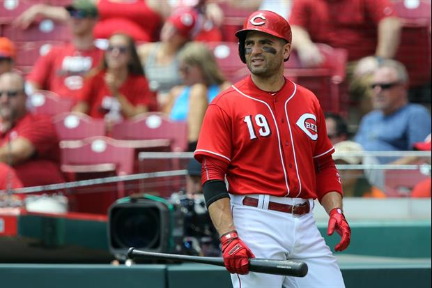 Reds Star Joey Votto Thinks Fans Should Stop Booing The Astros