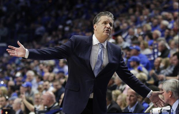 Calipari Tried To Shut Down Kentucky Fans During The GameChanting At Tennessee