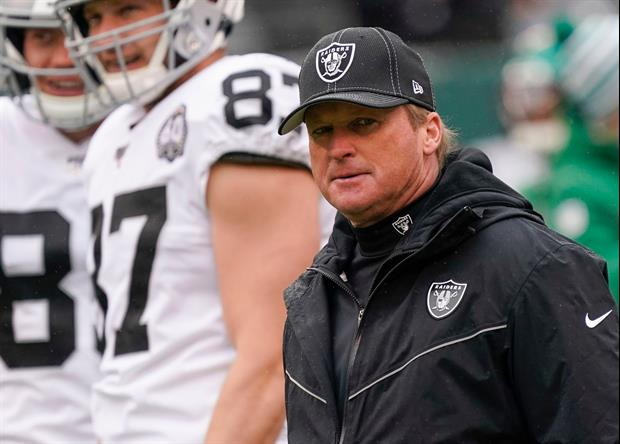 Jon Gruden Resigns As Raiders Head Coach After More Emails Surface
