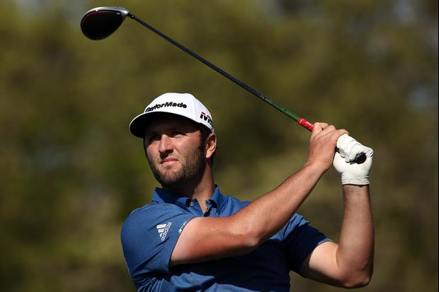 The TNT cameras caught Jon Rahm relieving himself at the PGA Championship on Friday...