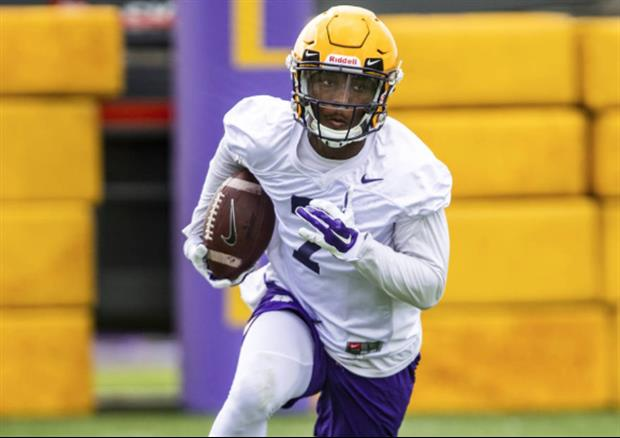 Two Of LSU's Starting Wide Receivers Returned To Practice ...