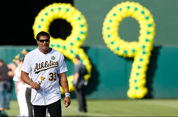 Jose Canseco Jokingly Threatens His Hot Daughter's Boyfriend