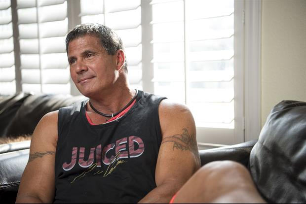 Jose Canseco Wastes No Time Shooting His Shoot With Jennifer Lopez