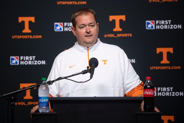 New Tennessee Coach Josh Heupel Loves His Team's Effort & Energy Walking Up The Stairs...?