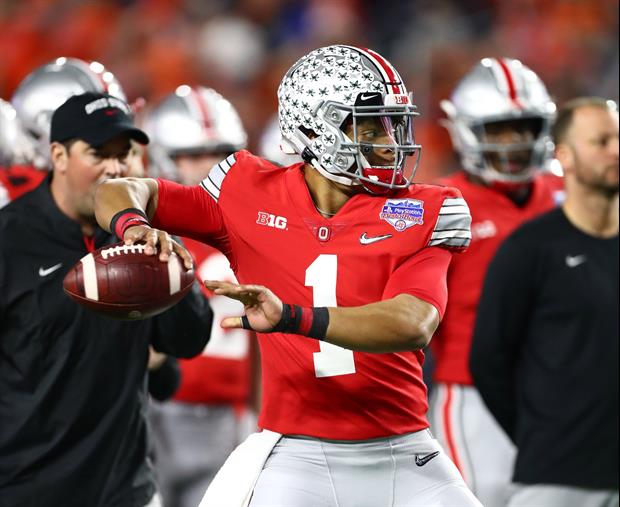 QB Justin Fields Thinks Ohio State Should Get A '30 For 30' Feature After This Season