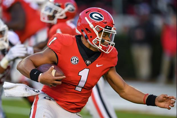 Georgia QB Justin Fields Is Likely To Transfer To Ohio State....................