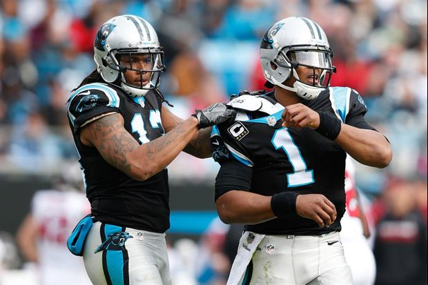 Panthers QB Cam Newton & Bills WR Kelvin Benjamin Go Face-To-Face Prior To Their Game