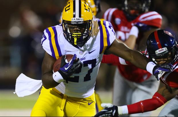 LSU's Kenny Hilliard may be out for the season.