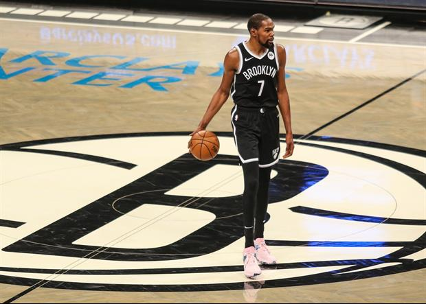 Nets Star Kevin Durant Ranked His Top 5 Teammates Of All-Time