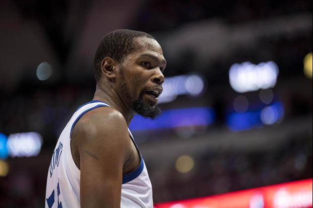 Kevin Durant Tells Hawks Fan To Shut Up & Watch The Game