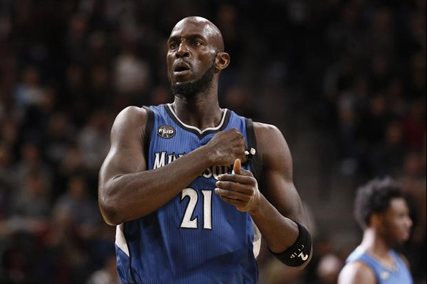 Kevin Garnett Talks About Mistakenly Talking Trash To Michael Jordan Only Once