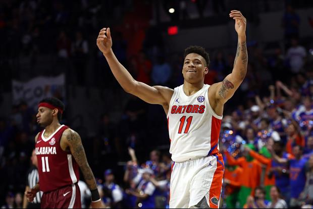Florida Star Keyontae Johnson Collapsed On Court After Celebrating With Teammates