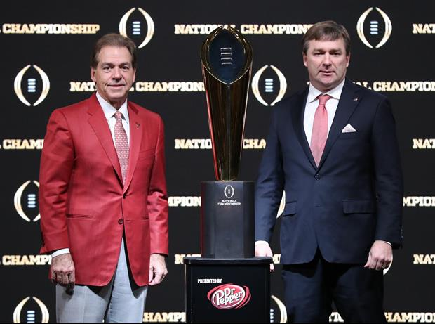 CFB Playoff Chairman Explains Why Georgia Is Ahead Of Alabama In Latest Rankings