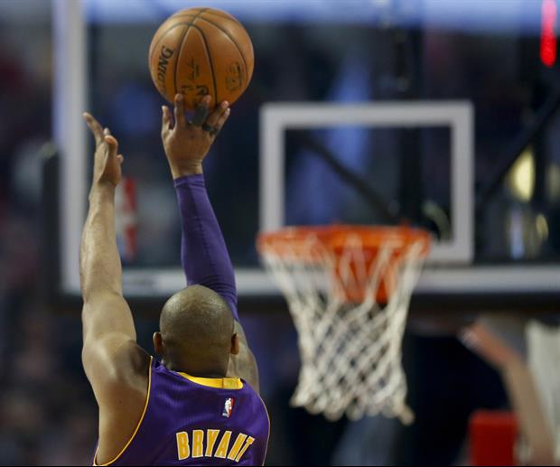 This Graphic Of Every Shot Kobe Bryant Made Is Mind-Blowing