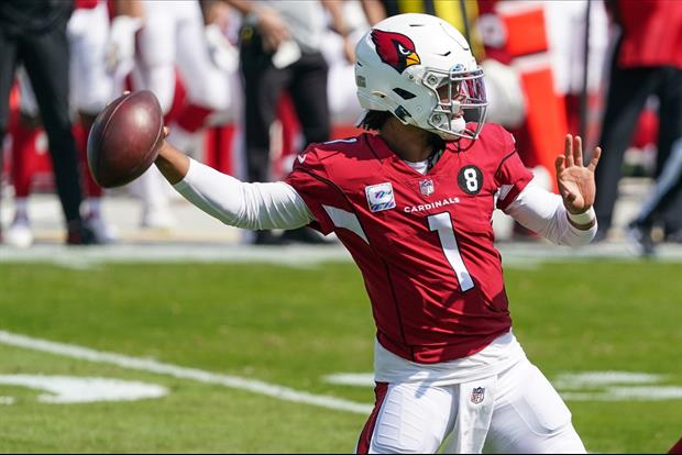 Cardinals QB Kyler Murray Straight Up Smiled When He Saw WR DeAndre Hopkins' Matchup