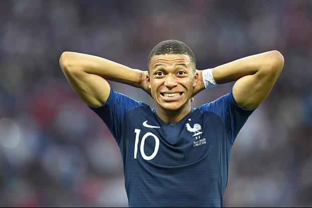 France Star Soccer Player Kylian Mbappe Suffers Horrifying Injury On Tackle, Leaves Game In Tears