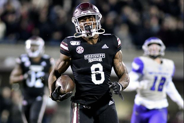 Mississippi State RB Kylin Hill Was Getting Suspended...So He Quit