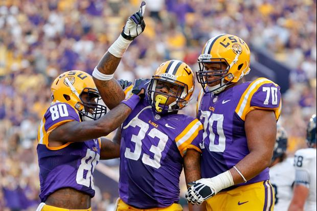 Jeremy Hill tweeted about the LSU Tigers 2013 Football team.