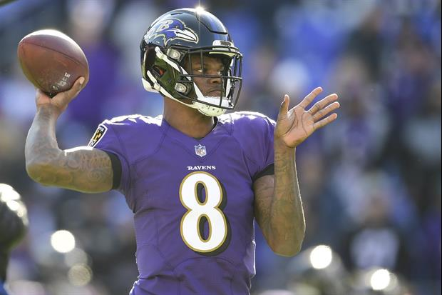 There's Only 1 NFL Player Baltimore Ravens star QB Lamar Jackson Says He Won't Race