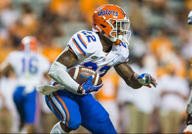 Florida RB Lamical Perine Arrested For Assaulting A Tow Truck Driver