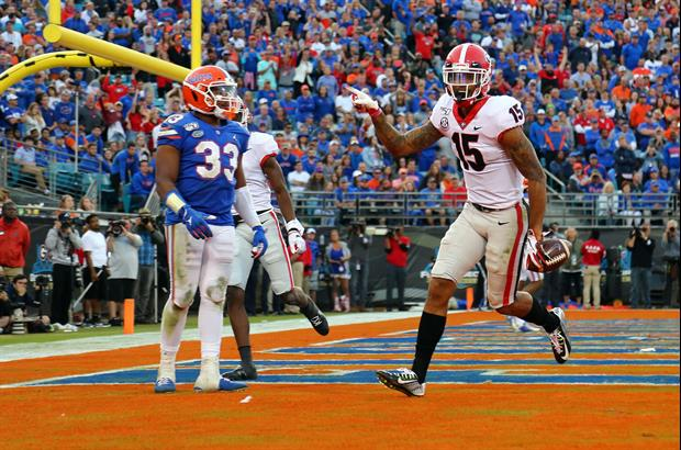 Georgia Star WR Lawrence Cage Trolled Florida On Instagram After Saturday's Win