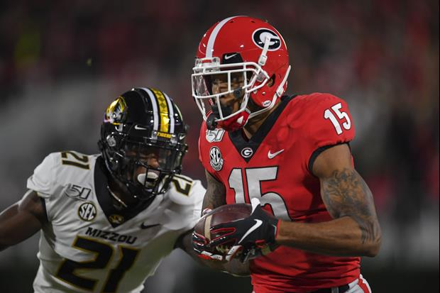 Georgia WR Lawrence Cager's Emotional Instagram Post Sounds like He's Out For A While