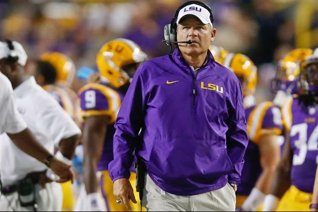 LSU head coach Les Miles is not interested in the Michigan job.