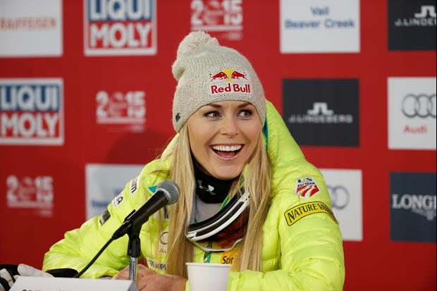 Lindsey Vonn's Squat Workout Is On Point
