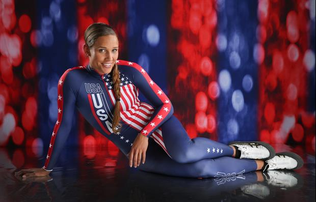 Lolo Jones Hit The Beach This Weekend & Beat The Haters To The Punch